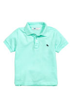 Polo shirt - Mint green -  | H&M 2