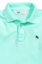 Polo shirt - Mint green -  | H&M 3