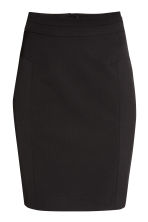Pencil skirt - Black -  | H&M CN 2