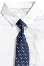 Shirt with a tie/bow tie - White - Kids | H&M CN 3