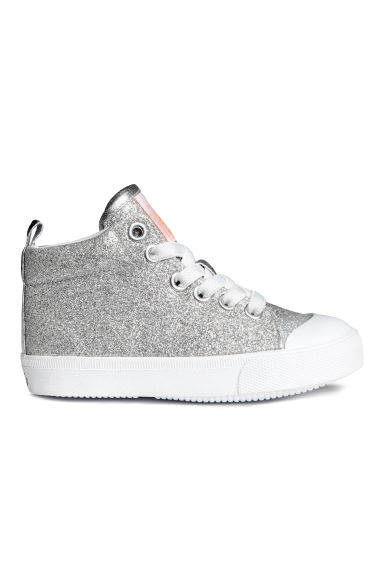Hi-top trainers - Silver - Kids | H&M 1