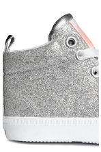 Hi-top trainers - Silver - Kids | H&M 4