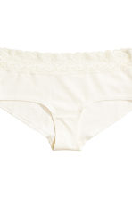 3-pack cotton shortie briefs - Mole - Ladies | H&M CN 5