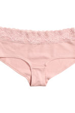 3-pack cotton shortie briefs - Mole - Ladies | H&M CN 3