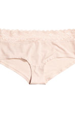 3-pack cotton shortie briefs - Pigeon blue - Ladies | H&M 3
