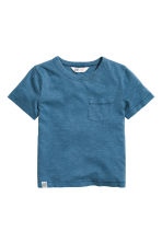 Slub jersey T-shirt - Blue - Kids | H&M 2