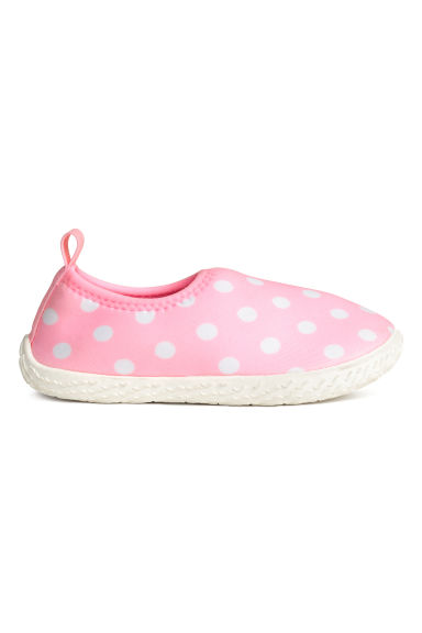 Water shoes - Light pink/Spotted -  | H&M 1