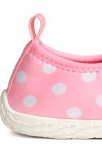 Water shoes - Light pink/Spotted -  | H&M 4