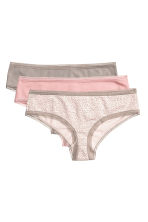 3-pack hipster briefs - Light mole - Ladies | H&M CN 2