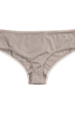 3-pack hipster briefs - Light mole - Ladies | H&M CN 3