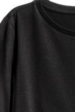 Cotton-blend T-shirt - Black - Ladies | H&M 3