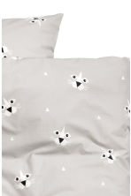 Patterned duvet cover set - Grey/Lion - Home All | H&M CN 2