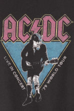 T-shirt con stampa - Nero/AC/DC -  | H&M IT 3