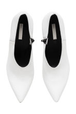 Leather shoe boots - White - Ladies | H&M CN 3