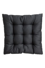 Solid colour seat cushion - Anthracite grey - Home All | H&M CN 3