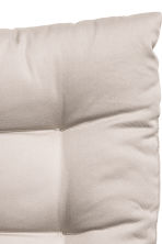 Solid colour seat cushion - Light beige - Home All | H&M CN 3