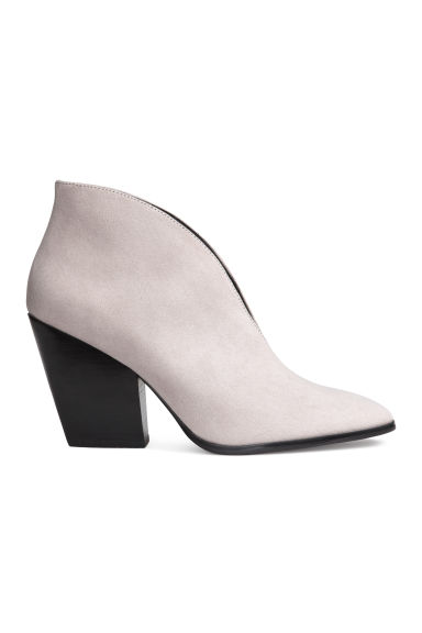 Ankle boots - Light grey -  | H&M