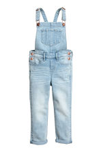 Denim dungarees - Light denim blue - Kids | H&M 2