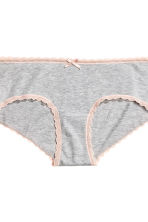 MAMA 3-pack hipster briefs - Grey/Black - Ladies | H&M 5