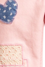 Twill trousers with patches - Light pink - Kids | H&M CN 5