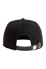 Wool-blend cap - Black/Neps - Men | H&M CN 2