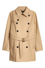 Trench-coat court - Beige - HOMME | H&M FR 2