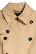 Trench-coat court - Beige - HOMME | H&M FR 3