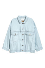 Oversized denim jacket - Light denim blue - Ladies | H&M CN 2