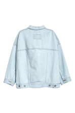 Oversized denim jacket - Light denim blue - Ladies | H&M CN 3