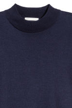 Fine-knit jumper - Dark blue - Ladies | H&M CN 3