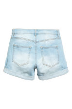 Denim shorts - Light denim blue - Ladies | H&M CN 2