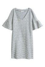 Striped dress - Blue/White - Ladies | H&M 2