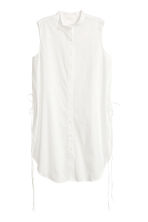 Katoenen tuniek - Wit - DAMES | H&M BE 2