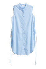Cotton tunic - Light blue - Ladies | H&M CN 2
