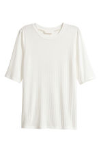 Top in jersey - Bianco - DONNA | H&M IT 2