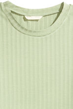 Jersey top - Light green - Ladies | H&M 3