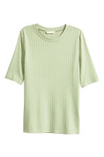 Jersey top - Light green - Ladies | H&M 2