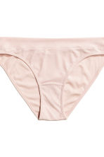 Bikini 2件入內褲 - Powder pink/Black - Ladies | H&M 4