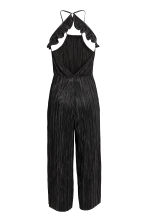 Pleated jumpsuit - Black - Ladies | H&M CN 3