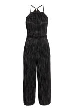 Pleated jumpsuit - Black - Ladies | H&M CN 2