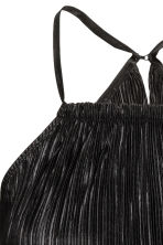 Pleated jumpsuit - Black - Ladies | H&M CN 4