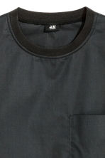 Cotton weave T-shirt - Black - Men | H&M CN 3