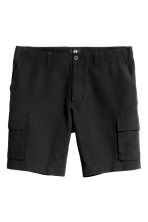 Knee-length shorts - Black - Men | H&M CN 2