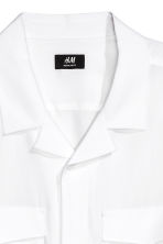 Lyocell resort shirt - White -  | H&M 2