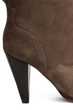 Suede ankle boots - Brown - Ladies | H&M CN 4