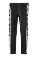 Leggings con stampa - Nero -  | H&M IT 2