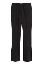 Suit trousers with slits - Black - Ladies | H&M 2