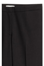 Suit trousers with slits - Black - Ladies | H&M 4