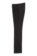 Suit trousers with slits - Black - Ladies | H&M 3