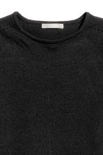 Fitted top - Black - Ladies | H&M CN 3